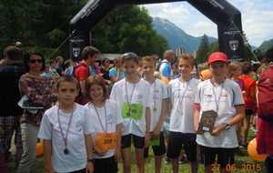 Mini cross marathon de chamonix